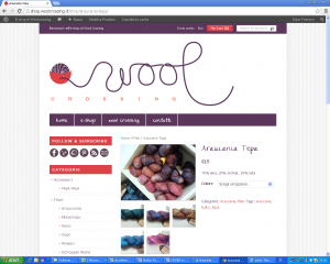 L'eshop di Wool Crossing