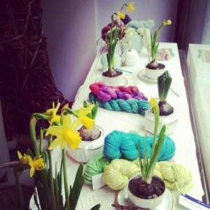 Jardin Mon Amour e le vetrine di Wool Crossing