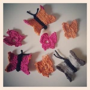 WunderFarfalle – Il Giardino delle Farfalle a maglia e uncinetto