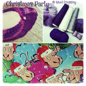 Christmas pary 2015 Wool Crossing