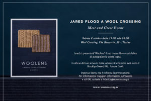 Jared Flood a Wool Crossing – Meet and Greet Event
